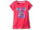 Nike Kids I'm So Big Time Tee (Little Kids) (Dark Hyper Pink)
