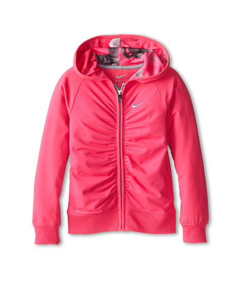 Nike Kids - Dri Fit Sport Essentials Hoodie (Little Kids) (Hyper Pink) Girl