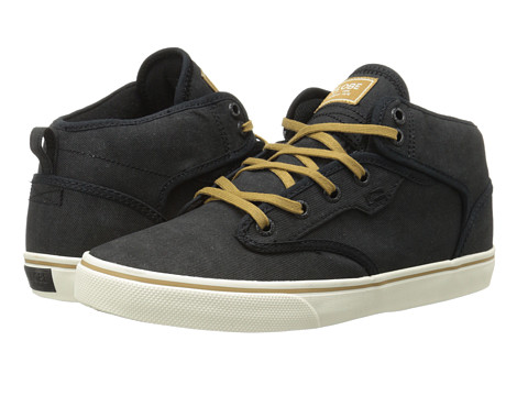 Globe - Motley Mid (Black Acid/Tan) Men