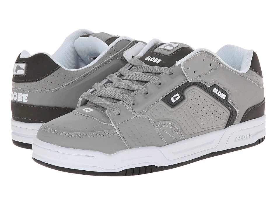 Globe - Scribe (Grey/Charcoal) Men's Skate Shoes