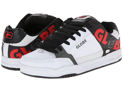 Globe - Tilt (White/Black TPR) Men