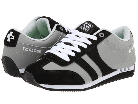 Globe - Pulse (Black/Grey) Men's Skate Shoes