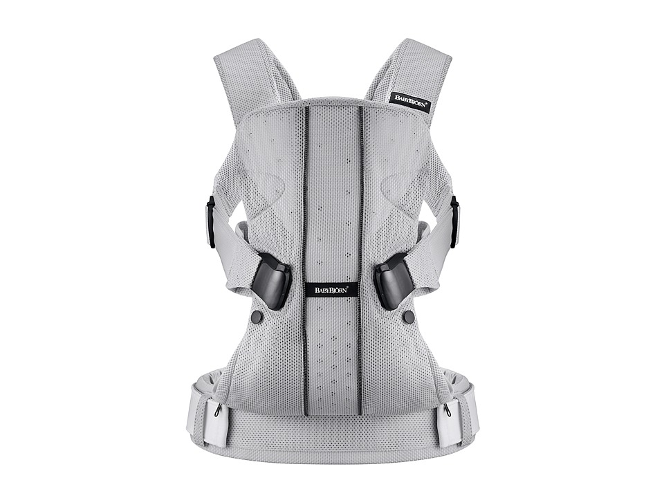 BabyBjorn - Baby Carrier ONE (Silver Mesh) Carriers Travel
