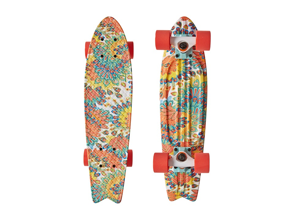 Globe - Bantam ST Graphic (Peacock) Skateboards Sports Equipment