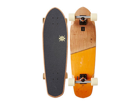 Globe - Big Blazer (Brown/Orange) Skateboards Sports Equipment