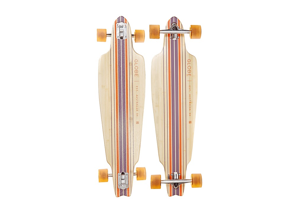 Globe - Prowler Bamboo (Bamboo/Clay) Skateboards Sports Equipment