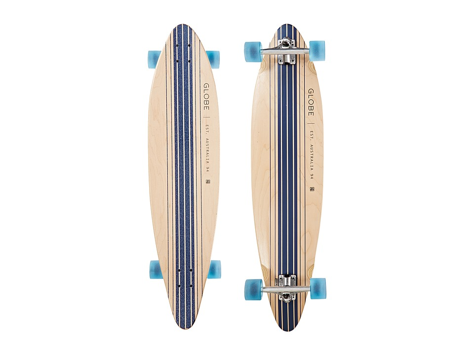 Globe - Pinner Cruiser (Natural/Blue) Skateboards Sports Equipment