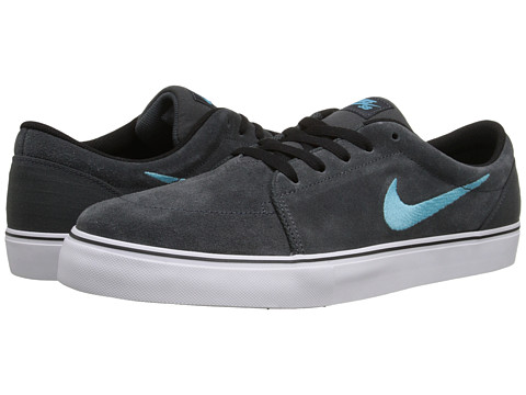 Nike SB - Satire (Anthracite/White/Black/Clearwater) Men's Skate Shoes