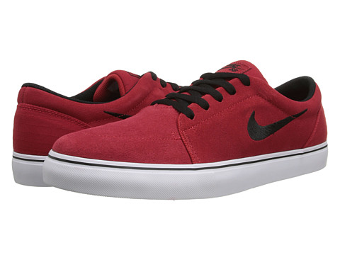 Nike SB - Satire (Gym Red/White/Black) Men's Skate Shoes