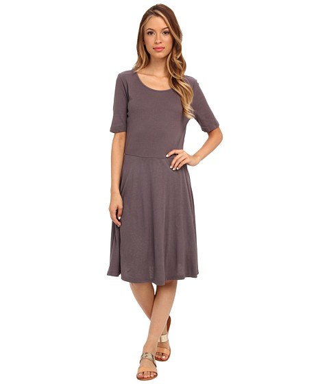 Three Dots - S/S Crew Neck Dress (Liberty) Women