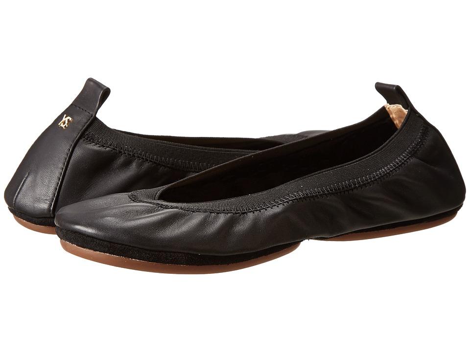 Yosi Samra - Alsina Leather Ballet Flat (Black) Women's Flat Shoes