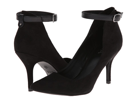 MIA - Baileyy (Black Nova Suede) Women's Shoes