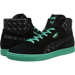 Classic Mid Suede (Black/Green)