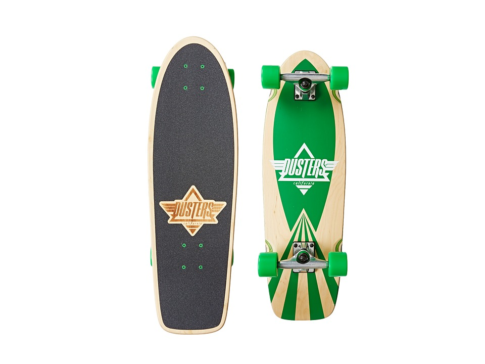 Dusters - Cazh (Kryptonics Green) Skateboards Sports Equipment
