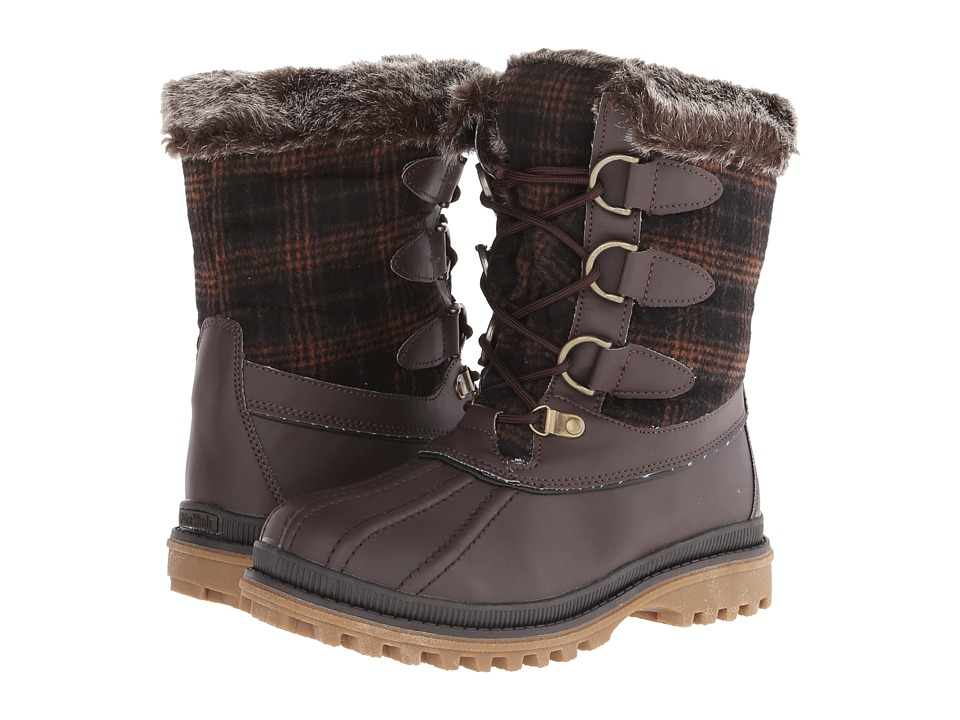 Maine Woods Molly (Brown Plaid) Women