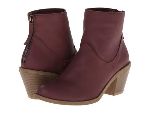 Madden Girl - Gleee (Burgundy) Women's Zip Boots