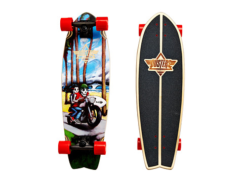 Dusters - Free Rider (Multi/Red) Skateboards Sports Equipment