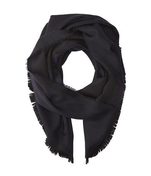 Givenchy - Jacquard Wool Scarf (Navy) Scarves