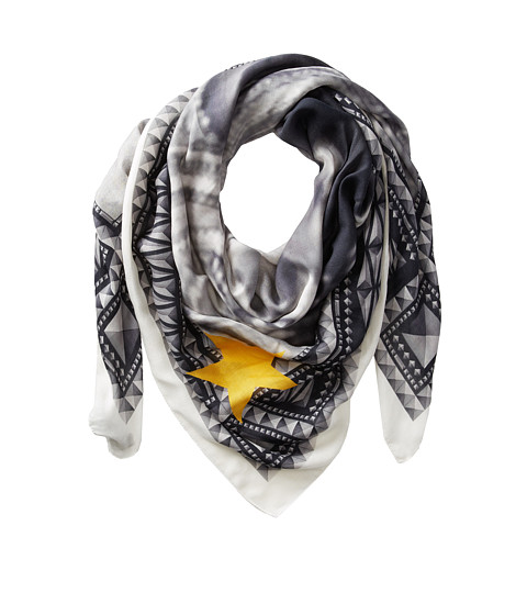 Givenchy - Printed Modal Cashmere Scarf (White) Scarves