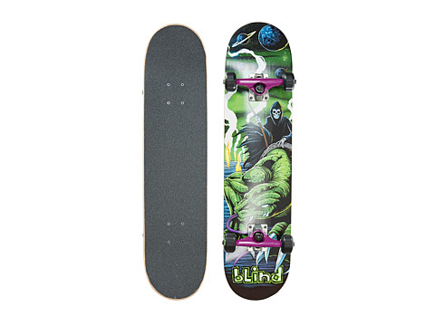 Blind - Lunar Lizard Complete (Green) Skateboards Sports Equipment