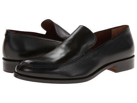 Massimo Matteo - Mocc Toe Slip-On (Black) Men