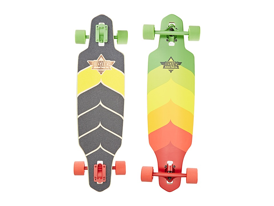 Dusters - Wake (Rasta) Skateboards Sports Equipment