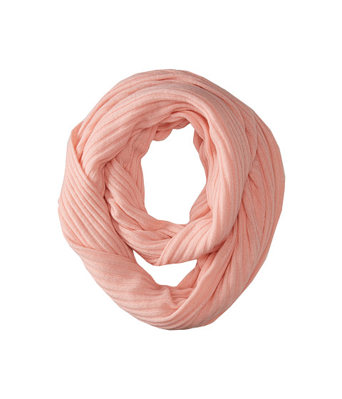 Brigitte Bailey - Diana Ribbed Cashmere Infinity Scarf (Baby Pink) Scarves