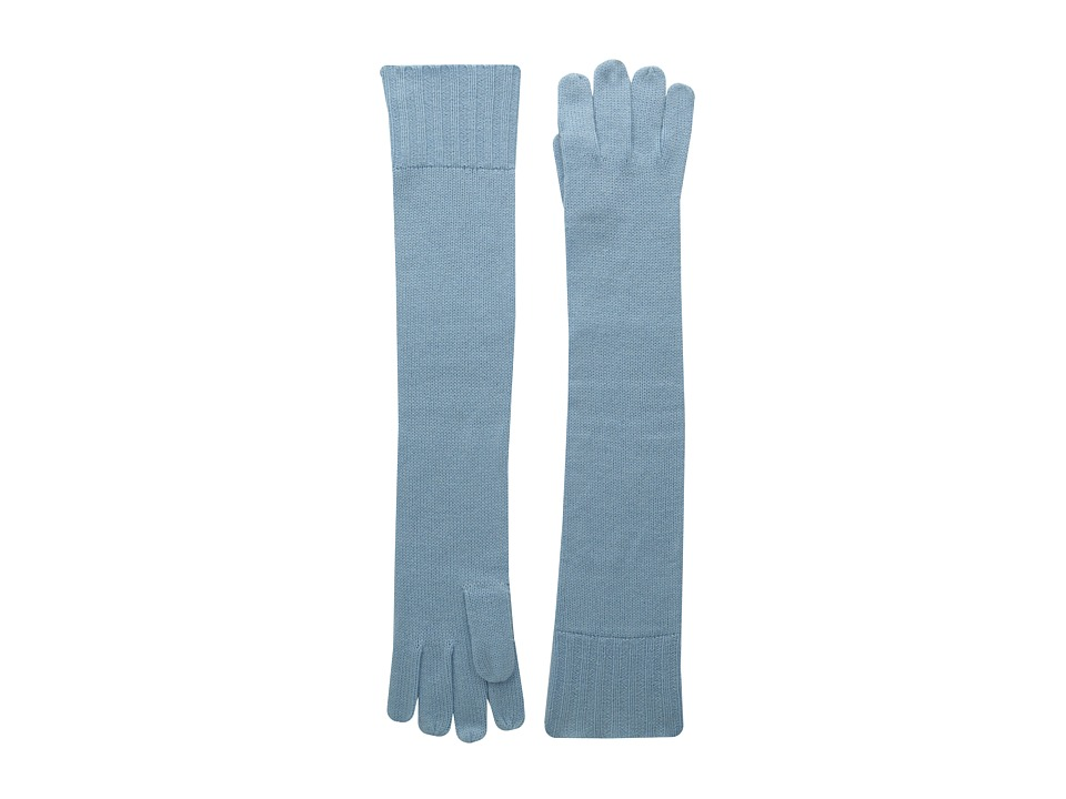 Brigitte Bailey - Diana Cashmere Long Gloves (Baby Blue) Dress Gloves