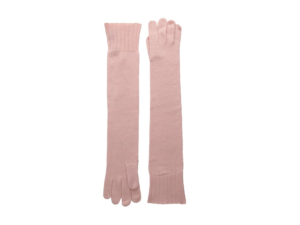 Brigitte Bailey - Diana Cashmere Long Gloves (Baby Pink) Dress Gloves