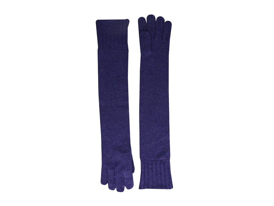 Brigitte Bailey - Diana Cashmere Long Gloves (Purple) Dress Gloves