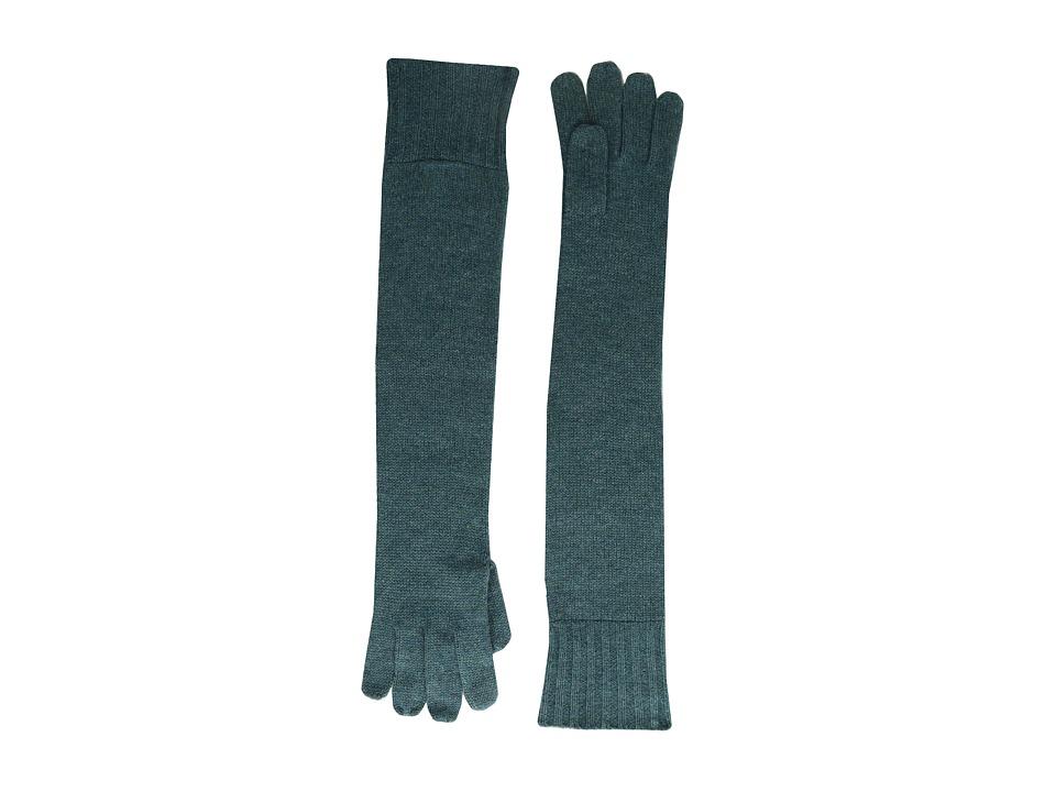 Brigitte Bailey - Diana Cashmere Long Gloves (Teal) Dress Gloves