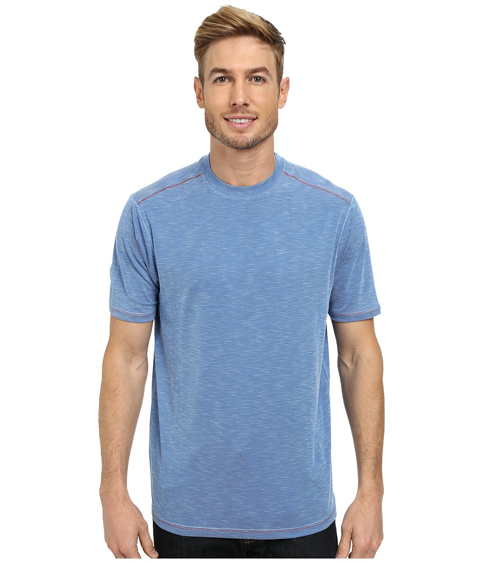 Tommy Bahama - Paradise Around S/S Tee (Cabo Blue) Men's T Shirt