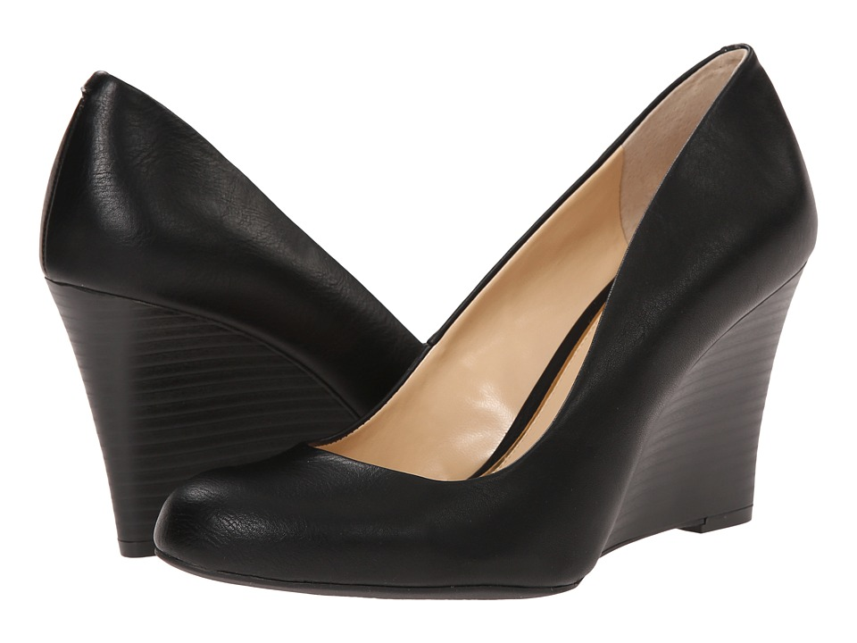 Jessica Simpson - Cash (Black Noble) Women's Wedge Shoes