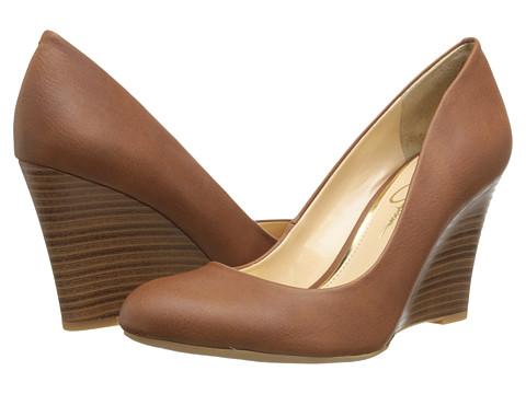 Jessica Simpson - Cash (Almond Grain) Women's Wedge Shoes
