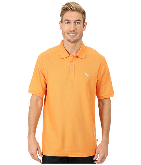 Tommy Bahama - The Emfielder Polo Shirt (Fireball) Men's Short Sleeve Pullover