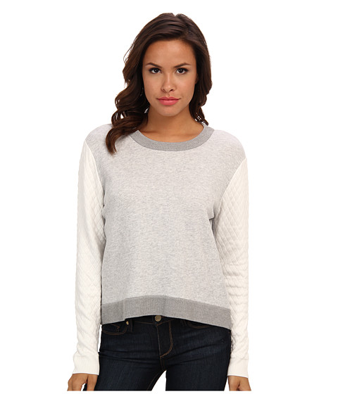 Townsen - Potter L/S Sweater (Heather Grey) Women's Long Sleeve Pullover