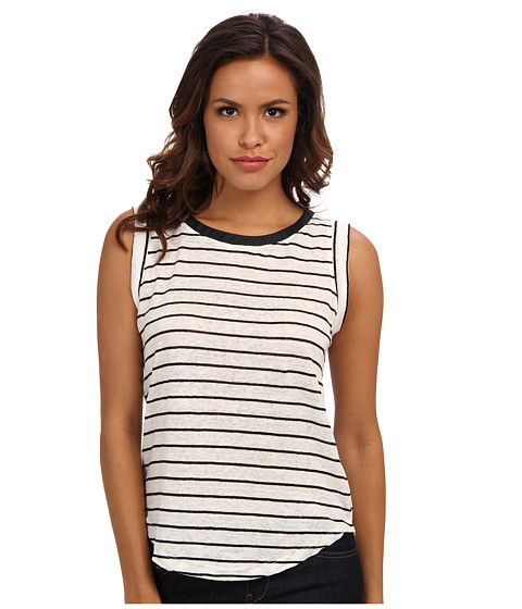 Townsen - Washington Tank (Cream & Black) Women's Sleeveless