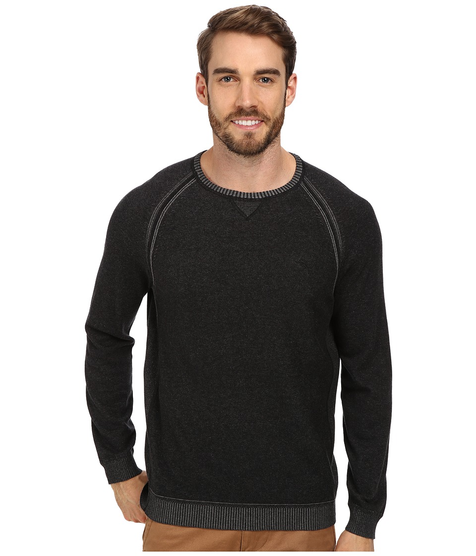 Tommy Bahama - Barbados Crew Sweater (Black) Men's Sweater