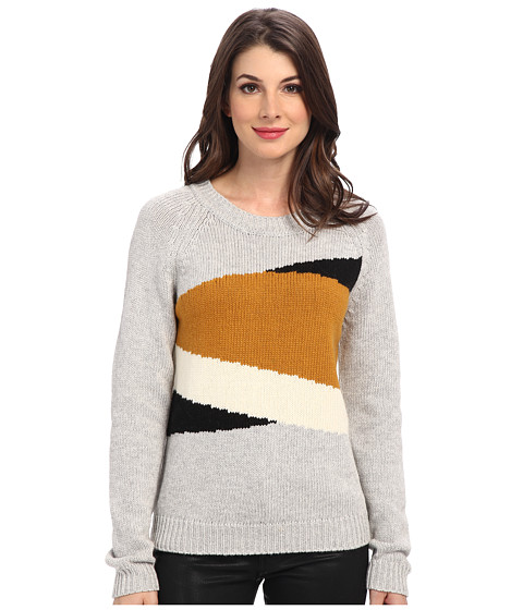 Townsen - Mountains L/S Sweater (Heather Grey) Women