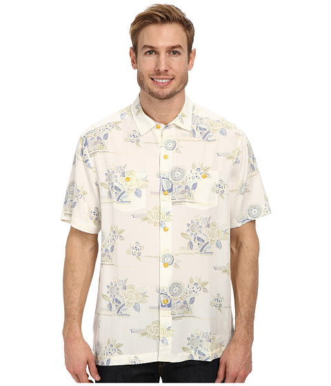 Tommy Bahama - Palm Desert Drift S/S Button Up (Continental) Men's Short Sleeve Button Up