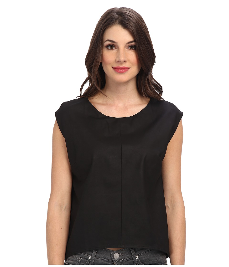 Townsen - Noir S/S Top (Black) Women's Sleeveless
