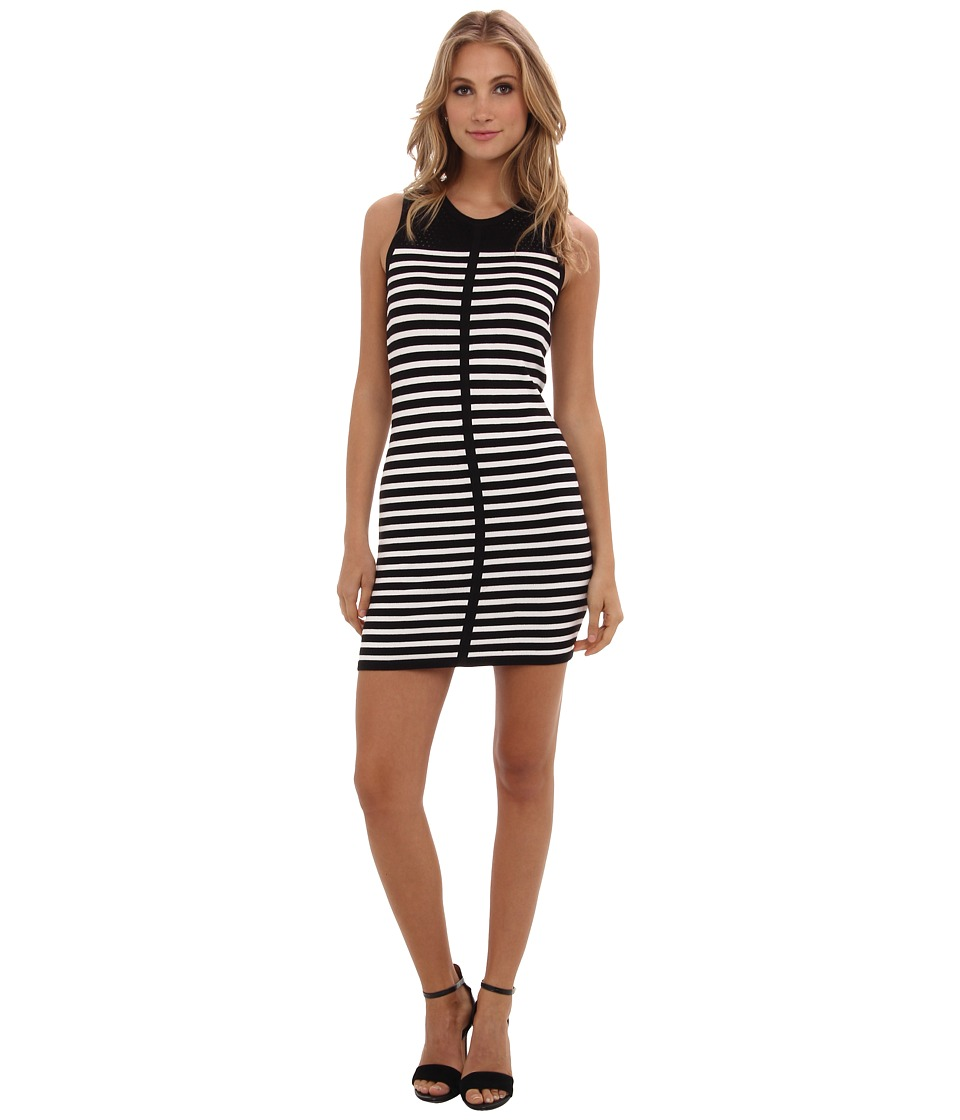 Townsen - Dume Stripe Dress (Black/White) Women's Dress