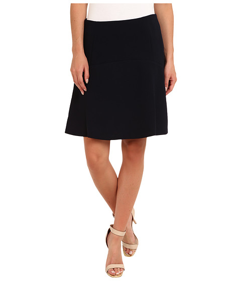Vince Camuto - Fit Flare Skirt (Navy Stone) Women's Skirt