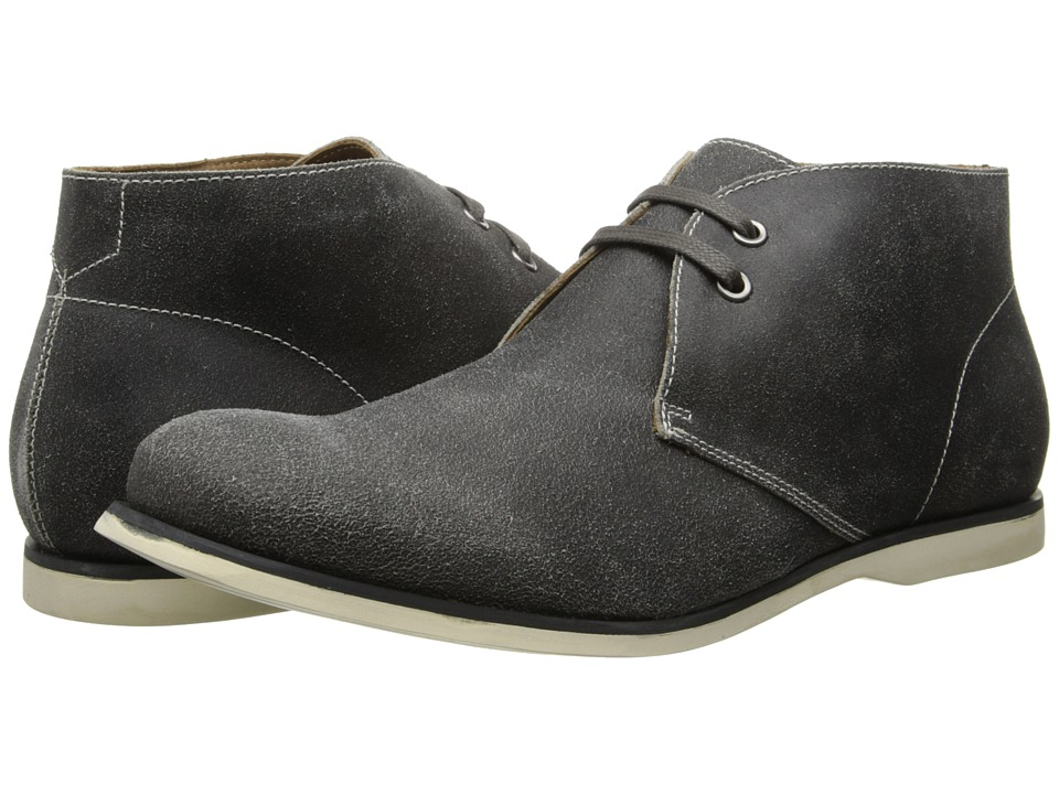 John Varvatos - Classic Chukka (Steel Grey) Men's Lace-up Boots