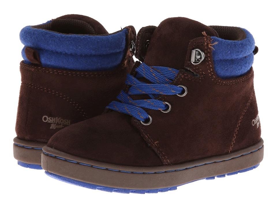 OshKosh - Harvey (Toddler/Little Kid) (Brown/Blue) Boys Shoes