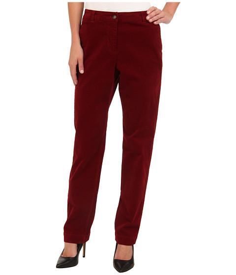 Pendleton - Dress Code Corduroy Pant (Crimson) Women