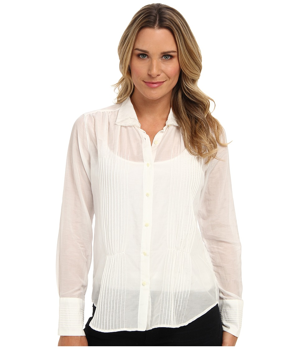 Pendleton - Fannie Shirt (Ivory) Women's Blouse