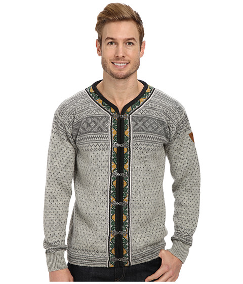 Dale of Norway - Setesdal (E-Smoke/Light Charcoal) Men's Sweater
