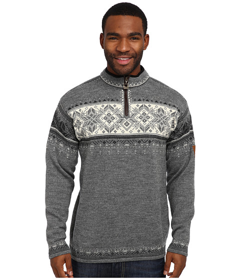 Dale of Norway - Blyfjell (E-Smoke/Dark Charcoal/Off White/Light Charcoal) Men's Sweater