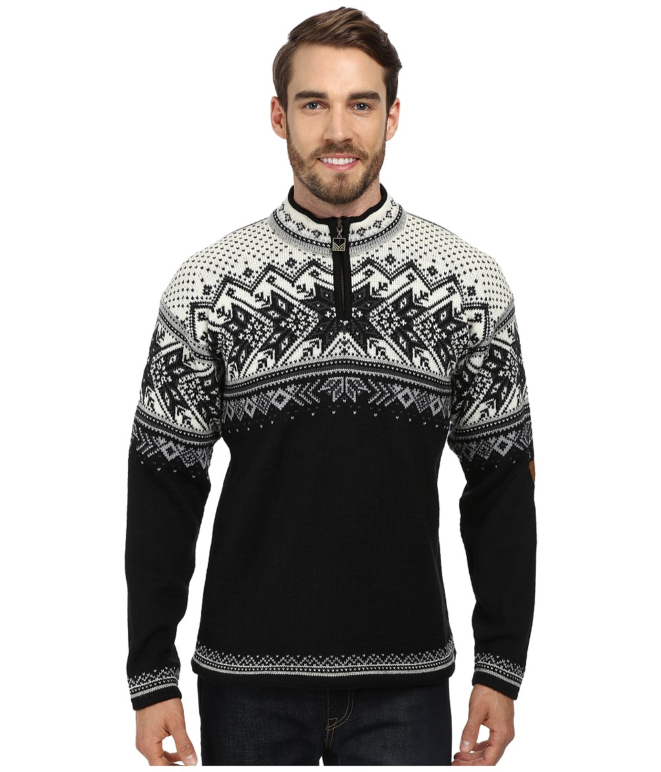 Dale of Norway - Vail (F-Black/Light Charcoal/Smoke/Off White) Men's Sweater